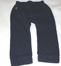 NWOT Infant Girls RALPH LAUREN Navy Quilted Leggings Pants Size 24 Months