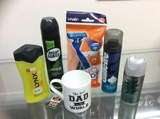 Mens Birthday Fathers Day Dad Daddy Hamper Gift Set Giftset Him Pamper Pack Lynx
