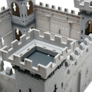 Medieval Castle Toys Knights Game Toy Soldiers Infantry Accessory Playset Models