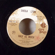 "Sheila Tilton Half as Much / I'll Be Whatever You Say 7"" 45 Con Brio + sleeve EX"