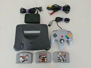 Nintendo 64 Console PAL + 3 Games
