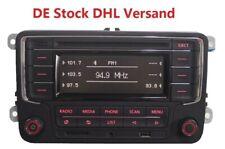 Autoradio VW RCN210 Bluetooth CD USB SD CADDY JETTA GOLF Passat  Tiguan Eos POLO