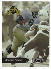 JEROME BETTIS 1993 Playoff #294 ROOKIE card Pittsburgh Steelers HOF Notre Dame