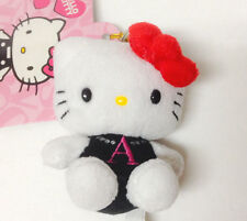 "Sanrio Hello Kitty Mascot Plush Initial ""A"" Charm kawaii"