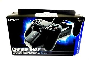 Nyko PS4 Charge Base Charging Solution for 2 Dual Shock Controller 83200-A50 New