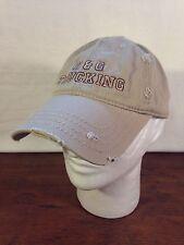 Men's Tan Cotton Distressed D & G Trucking Baseball Adjustable Cap Hat