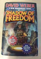 Honorverse: Shadow of Freedom by David Weber Hardcover Limited Edition Signed