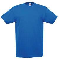 Fruit of the Loom SS034 Valueweight Mens Plain V Neck Tee Shirt Tshirt T-Shirts