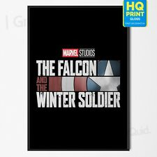 Falcon and the Winter Soldier Marvel Phase 4 Movie 2020 Poster   A4 A3 A2 A1  