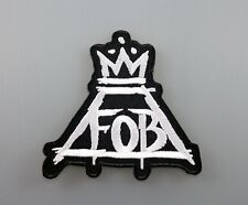 FOB FALL OUT BOY ROCK HEAVY PUNK Embroidered Patch Iron Sew Logo Hardcore Emblem