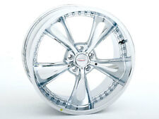 "Brand New Venti-54 Old School wheels 20"" Chrome Staggered (5x114.3) (Set of 4)"