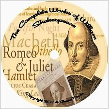 The Complete Works of William Shakespeare Hamlet Macbeth book set edition old cd