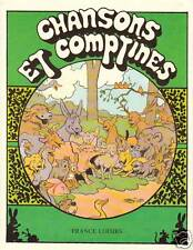 """Document issu de Livre  """" d'Après Benjamin RABIER Comptines 1978 """""""