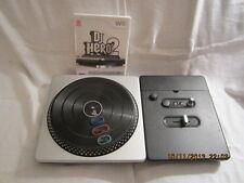 DJ Hero 2 [Bundle]  (Wii, 2010) with DJ Hero Turntable