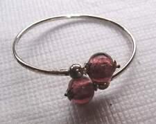Bracelets en véritable perles de Murano .
