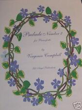 ~~~Prelude Number 2  by Virginia Campbell~~~