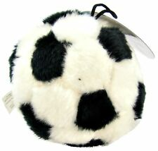 """ETHICAL SPOT PLUSH SPORT SOCCER BALL 4.5"""" DOG TOY. IN THE USA"""