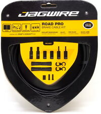 Jagwire Road Pro Slick Polished Brake Cable Kit for Sram/Shimano Stealth Black