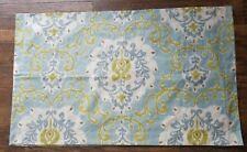 Pottery Barn JOYCE Ikat Damask Medallion King Sham Pillowcase 2 Pc