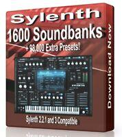1600 Banks + 98,000 Presets for Sylenth Logic, FL Studio, Reason, Ableton Cubase