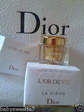 Dior L'Or de Vie la Crème Cream 10ml Normal Skin Most Luxuary Anti Age 5ml Nib