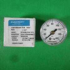 Ashcroft -- 15W1005SH-01B 160# -- New
