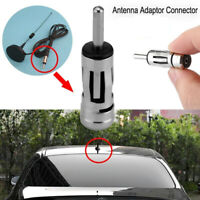 Connector Vehicles Aerial Plug ISO To Din Car Radio Stereo Antenna Mast Adapter