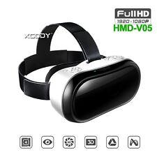 Meilleur VR Casque 3D Lunettes vidéo HDMI Bluetooth Virtual Reality W / Gamepad