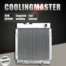Fit 63-65 Ford Mustang Falcon 63-66 Mercury Comet V8 AT 3Row Aluminum Radiator