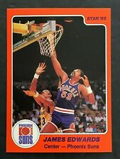 JAMES  EDWARDS 1985  STAR  BASKETBALL  #40