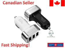 Universal 3 port USB 5.1A Car Charger Adapter High speed Charging for iPhone LG