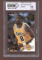 Kobe Bryant RC 1996-97 NBA Hoops #281 Lakers HOF Rookie GEM Elite 10 Pristine