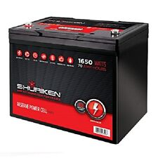 Shuriken SK-BT70 12-Volt High Performance AGM Power Cell Battery for Systems Up