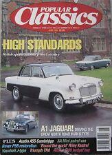 Popular Classics 06/1994 featuring Triumph TR8, TVR, Jaguar, Ferrari, Riley