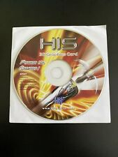 HIS 3D GRAPHICS CARD POWER UP GAMERS NEW  0707 Installation CD