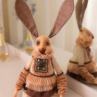 OOAK Art Doll Bunny from Alice Wonderland-Amazing Easter Gift-Living Room Decor