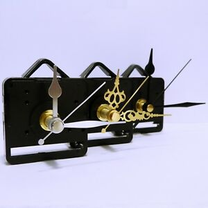 Quartz ticking clock movement, mechanism huge choice of hands craft, diy project