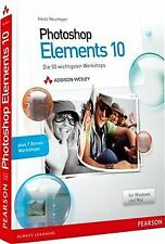 Photoshop Elements 10 - Die 50 wichtigsten Workshop... | Buch | Zustand sehr gut
