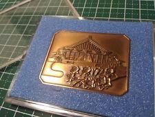 SGI Soka Gakkai Japan Officer Financial staff certification medal 1973