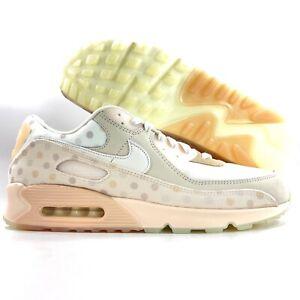 Nike Air Max 90 NRG Polka Dots Shimmer White Sand Beige CZ1929-200 Men's 8-14