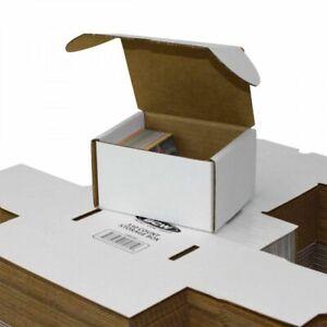 10X BCW 330 Count Cardboard Trading, Pokemon, Magic, YuGiOH! Card Storage Boxes