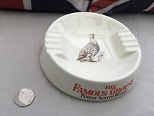 """Vintage Wade """"The Famous Grouse"""" Scotch Whisky Ashtray"""