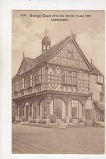 Grange Court Leominster Vintage Postcard 338b