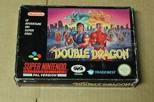 Super double dragon-Super Nintendo SNES game pal