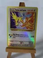 Articuno Zapdos and Moltres Proxy Custom Pokemon Card in Holo