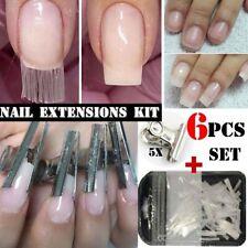 Fiberglass Nail Extension Diy Fiberglass Nail Gel Fake Nail Tips Women Tool Us*