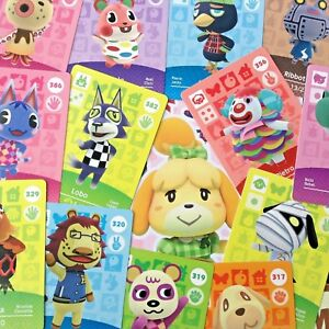 Animal Crossing Series 4 Amiibo Cards Pick Your Own 301-400 Nintendo Switch