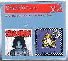 SHANDON v.2 NOT SO HAPPY TO BE SAD/PUNK.BILLY.SKA.CORE BOX 2 CD F.C. SIGILLATO!!