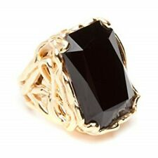 CC Skye Vintage show stopper ring with black onyx size 7
