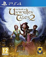 Book of Unwritten Tales 2 - PS4 PlayStation 4 - Neu Ovp